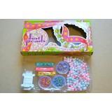 """Набор для творчества """"Just perls"""": жемчужные бусины, бисер, ленты, леска, игла"""