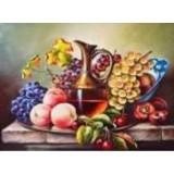 Алмазная мозаика «Натюрморт с фруктами» 30х40