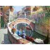 Алмазная мозаика «Мостик в венеции» 30х40