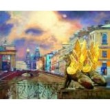 Алмазная мозаика «Банковский мост» 30х40
