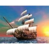 Алмазная мозаика «На всех парусах» 30х40